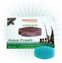 Patanjali Aqua Fresh Bath Soap - 75g