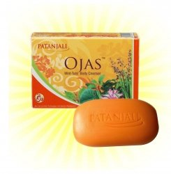 Patanjali Ojas Mint Tulasi Body Cleanser ( Bath Soap )- 75gm