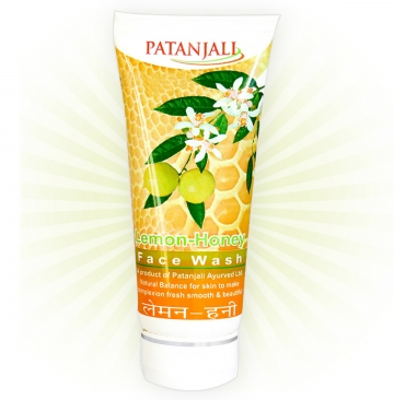 Patanjali Lemon Face Wash- 60ml