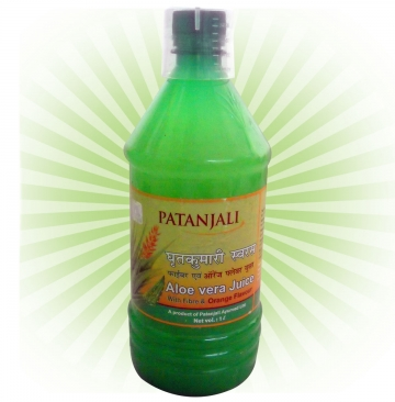 Patanjali Aloe Vera Juice  Orange F