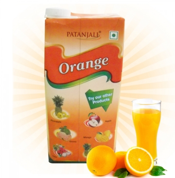 Patanjali Orange Juice - 1 Litre