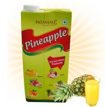 Patanjali Pineapple Juice - 1 Litre