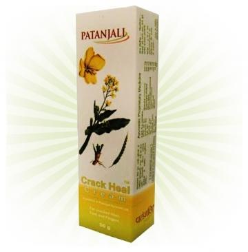 Patanjali Crack Heal Cream - 50gm