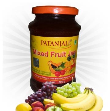Patanjali- Mixed Fruit Jam - 500gms