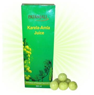 Patanjali Karela-Amla Juice - 500ml
