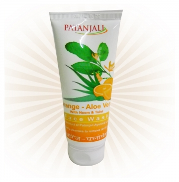 Patanjali Orange - Aloe Vera Fash Wash - 60gms