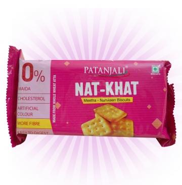 Patanjali  Nat Khat BISCUIT 80 GMS