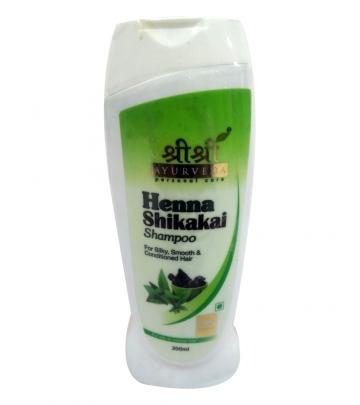 Sri Sri Henna shikakai Shampoo 200