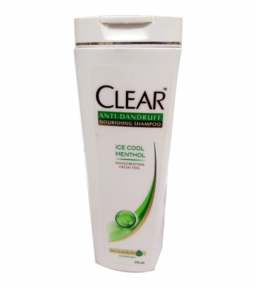 Clear Anti Dandruff ice menthol 80 ml