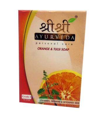 Sri Sri Orange & Tulsi Soap 100 g