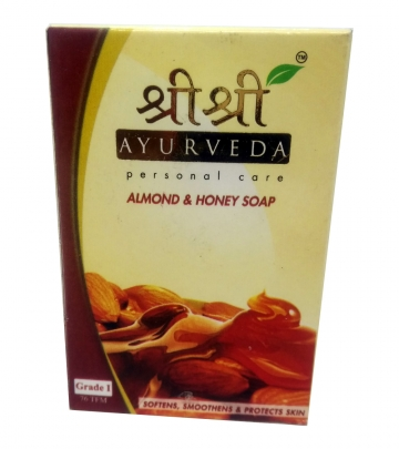 Sri Sri Almond & Honey Soap 100 g