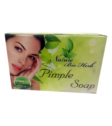Nature Bio Herb Pimple Soap 75g