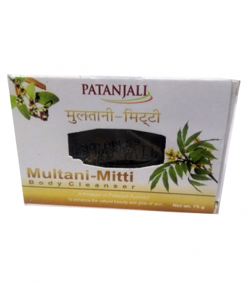 Patanjali Multani mitti Body Cleanser 75 g