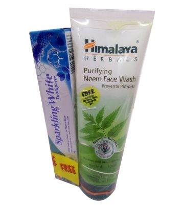 Himalaya Offer Pack Neem Face wash + Paste