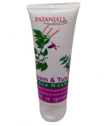 Patanjali Neem & Tulsi Face wash 60 g
