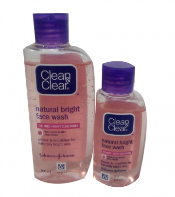 Clean & Clear Natural Bright Face wash 50 ml