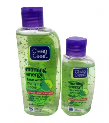 Clean & Clear Morning Energy Face wash Apple  50 ml