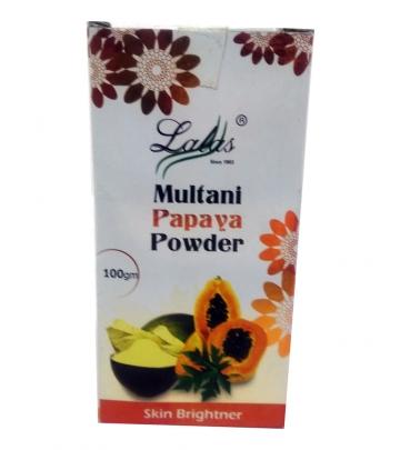 Lala's Multhani Papaya Powder 100