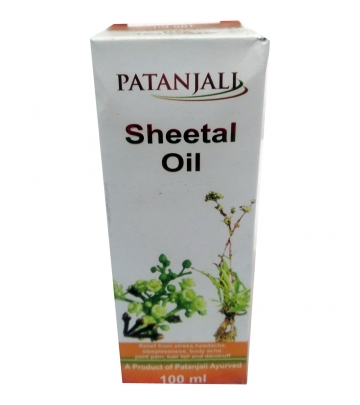 Patanjali Sheetal Oil 100 ml