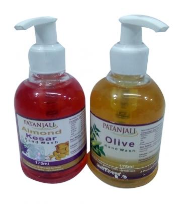 Patanjali Almond Kesar Handwash 175