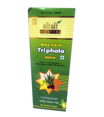 Sri Sri Aloe vera Triphala Juice  500 ml