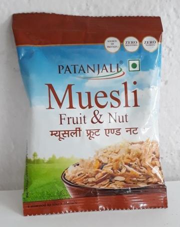 Patanjali Muesli Fruit & Nut 30 gms