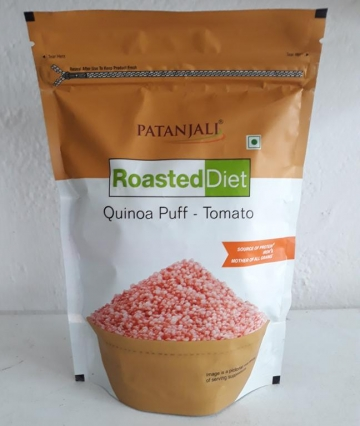 Patanjali Roasted Diet Quinoa Puff - Tomato 80 gms