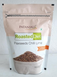 Patanjali Roasted Diet Flaxseeds Chilli Lime 150 gms