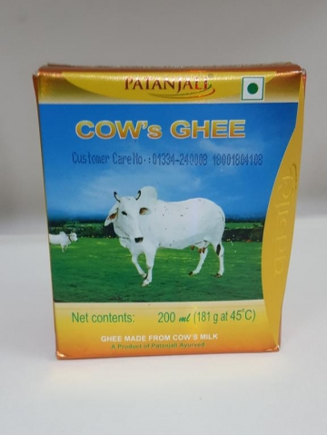 Patanjali Cow's Ghee 200 ml