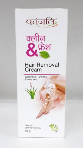 Patanjali Clean Fresh -Hair Removal Cream 50 gms