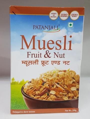 Patanjali  Muesli Fruit Nut 200 gm