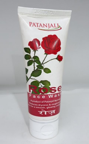 Patanjali Rose Face wash 60 g