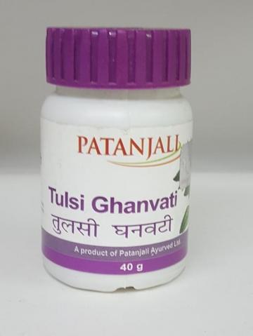Patanjali Tulsi Ghanvati 40 g