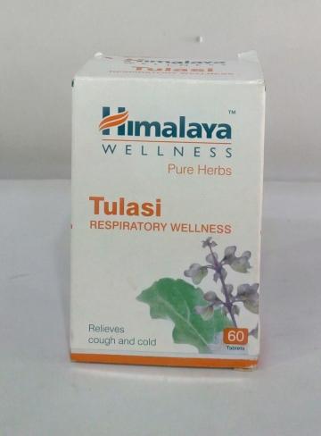 Himalaya Tulasi Respiratory Wellness 60 tab