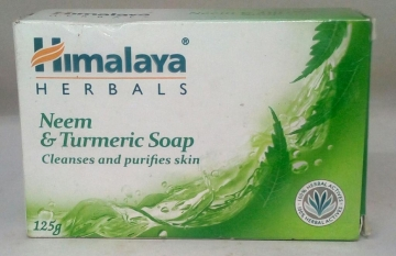 Himalaya Neem and Turmeric Soap 125