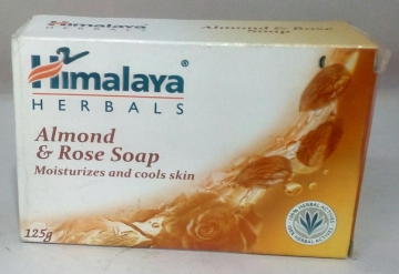 Himalaya Almond & Rose Soap 125 gm