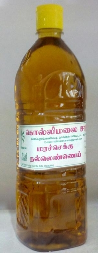 Kollimalai Sesame Oil 1 lit