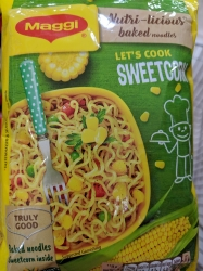 Maggi Nutri licious baked noodles sweet corn